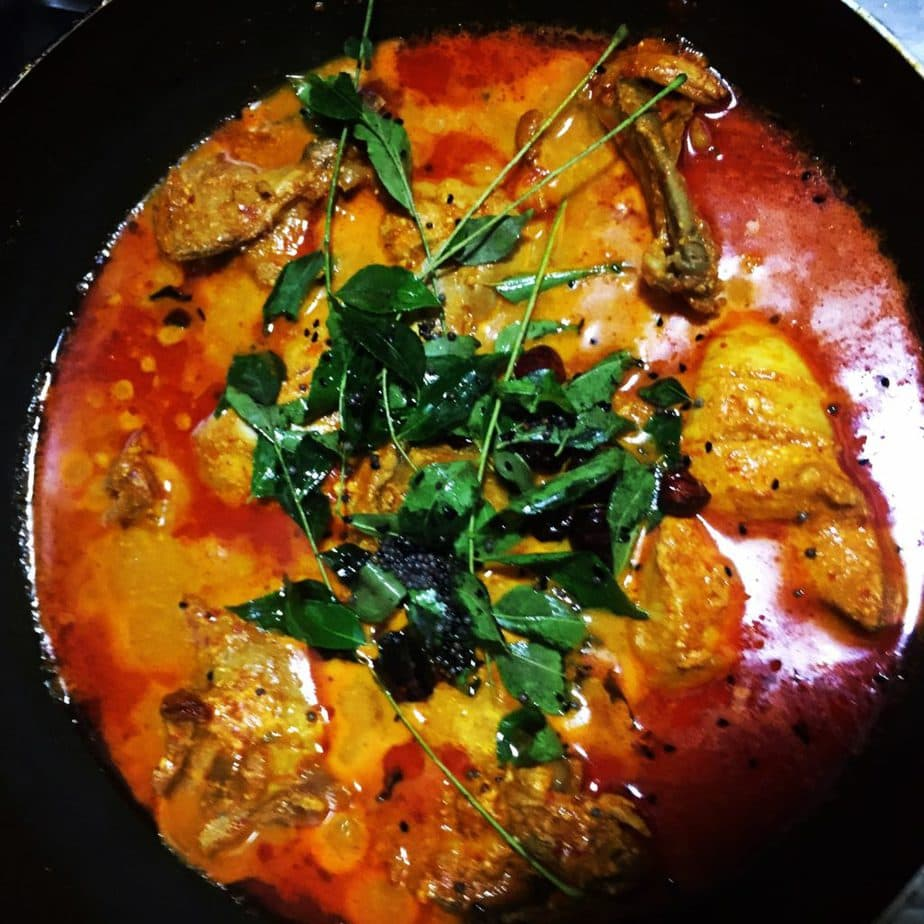 kashmiri chilli chicken gravy recipe
