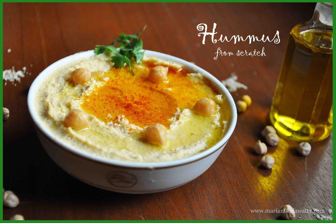 hummus recipe without tahina