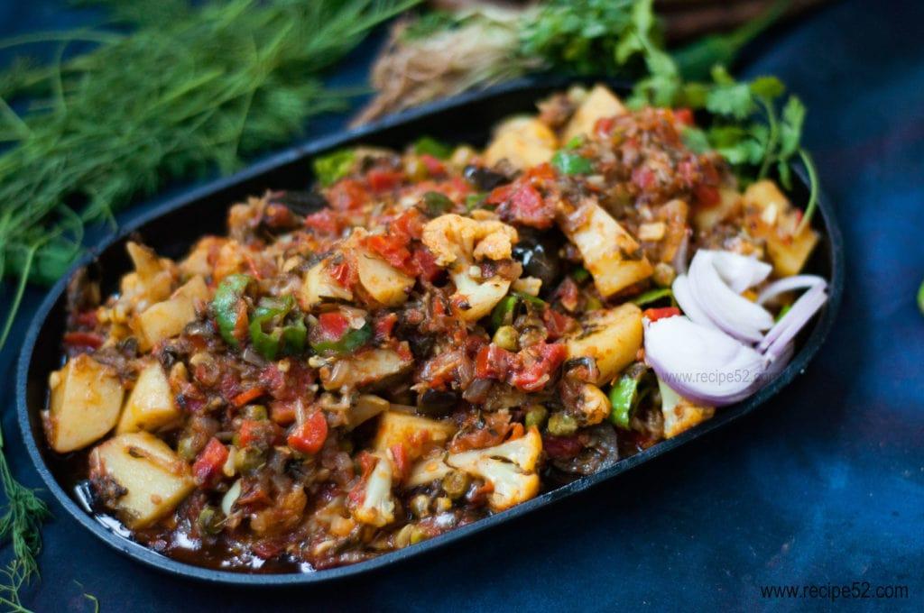 Mix sabzi recipe Pakistani style
