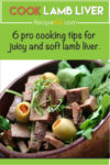 Cook lamb liver pin it image