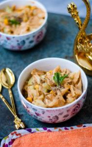 corn pasta cucumber salad recipe