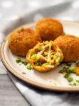 cheesy spaghetti balls recipe