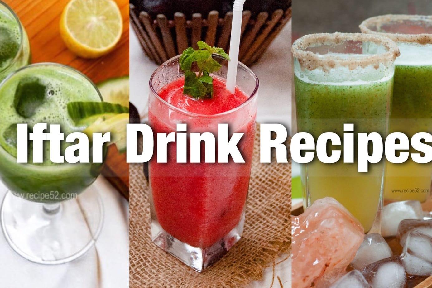 iftar drink recipes