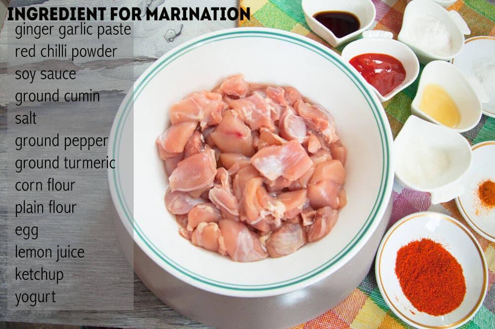 Marinate or brine