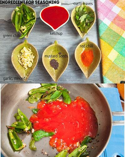 Seasoning Ingredients and preps