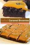 salted caramel brownies pin it image