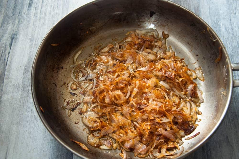 Fried onions.