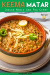 Keema matar Pin it image