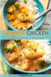 Orange Chicken pin it image