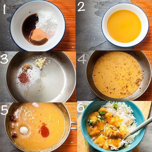 Steps to make Sauce