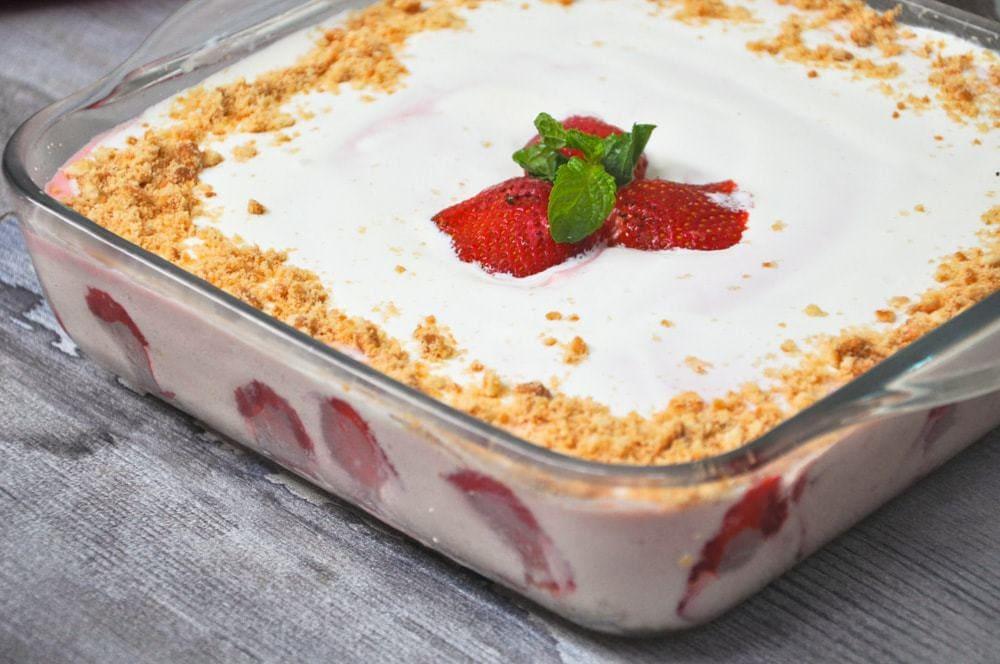 gluten free strawberry dessert
