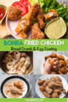Bohra fried Chicken pin it image.