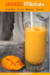 Mango Milkshake Pin it image