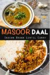 Masoor Daal Pin it image.