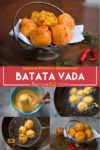 Indian dumpling, batata vada recipe