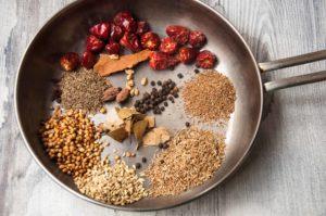 Ingredient for Haleem masala